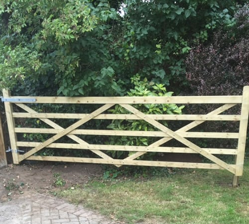 five-bar-field-gate-installers maidstone
