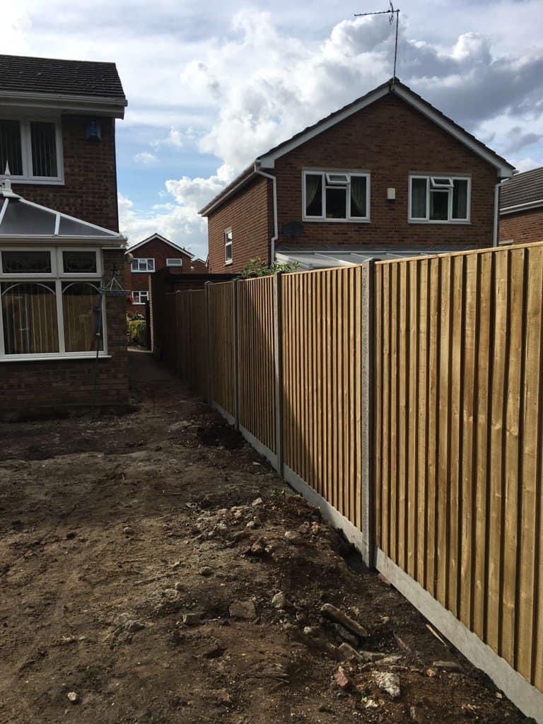 Closeboard fence panel maidstone kent i wallond fencing contractors closeboard fence concrete posts maidstone kent baanklon Gallery