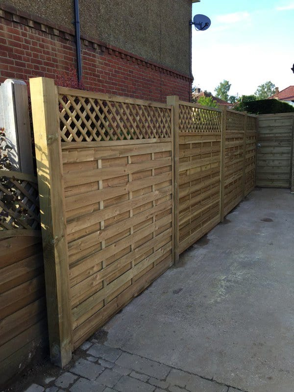 Continental Fence Panel Maidstone