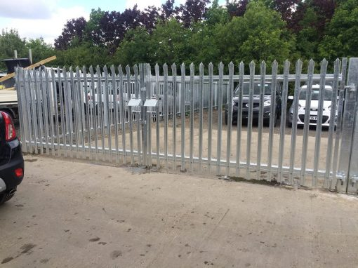commercial fencing maidstone medway installations i wallond fencing. Black Bedroom Furniture Sets. Home Design Ideas