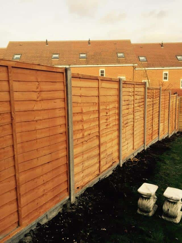 Overlap Fence Panels Maidstone Kent I Wallond Fencing