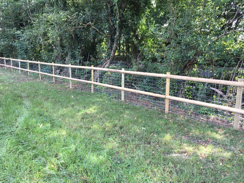 Post and Rail Fencing Medway Kent