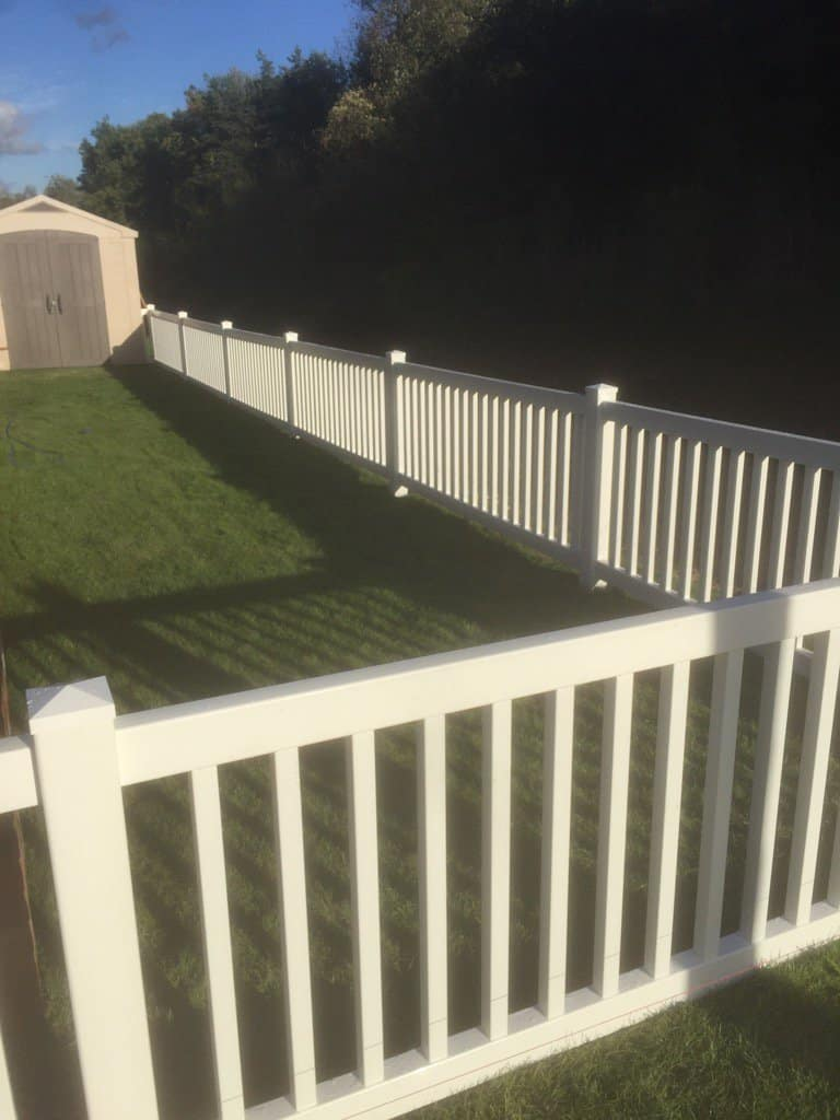 fence ideas plastic fencing