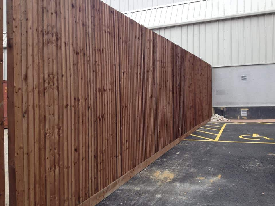 Closeboard Fence Panel Maidstone Kent I Wallond Fencing