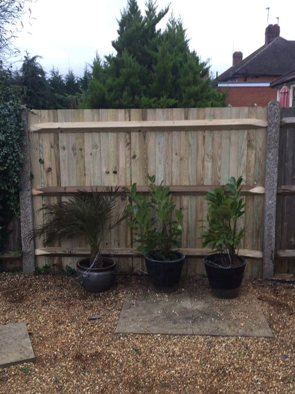 Closeboard Fencing with Arris Rails Maidstone