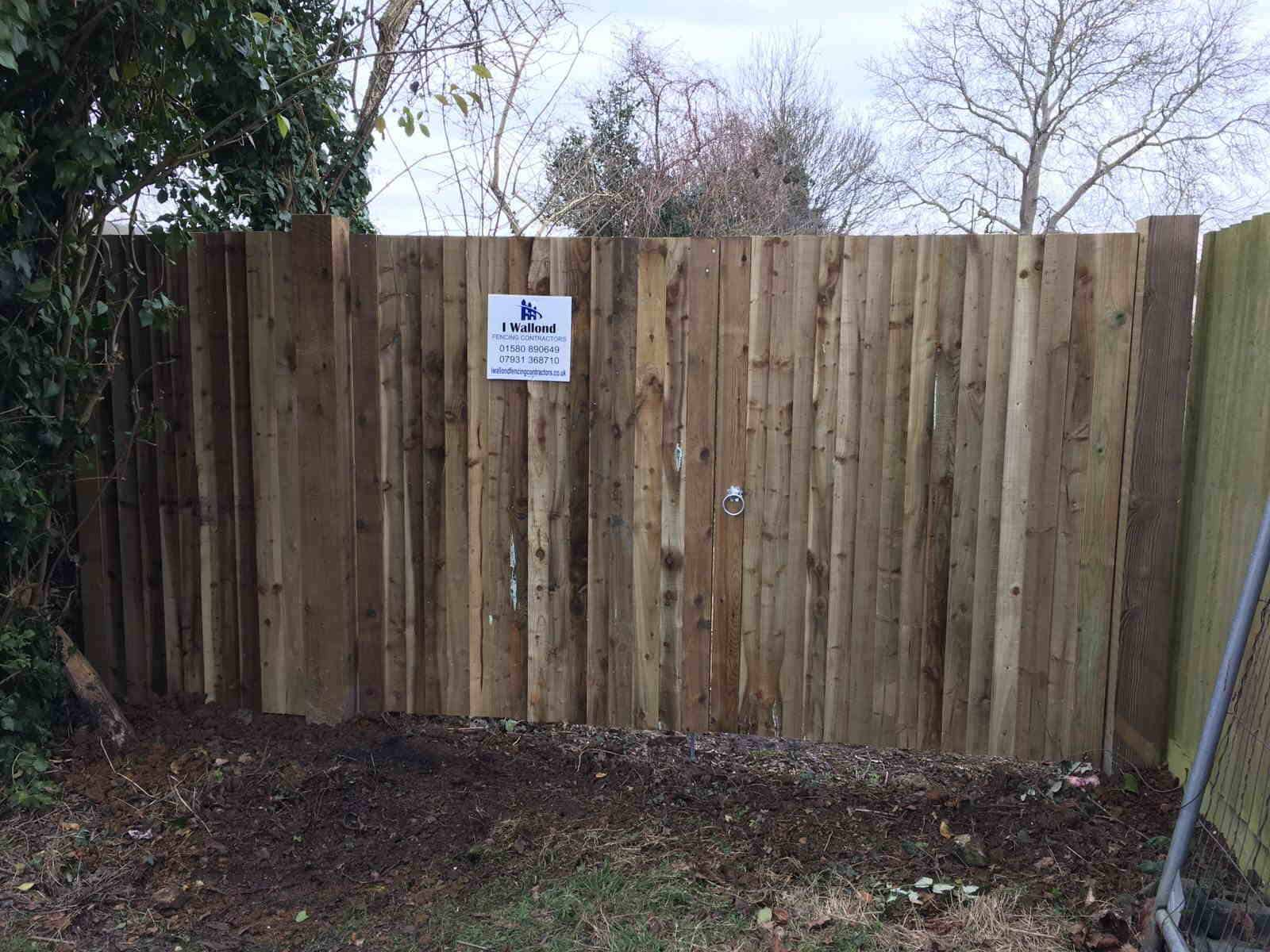 fencing ideas closeboard panels