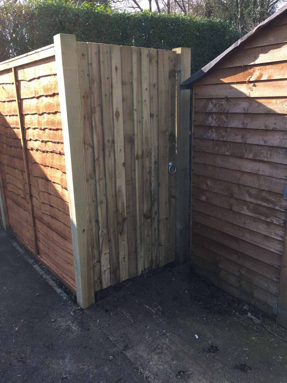 Wooden Gates and Overlap Panels