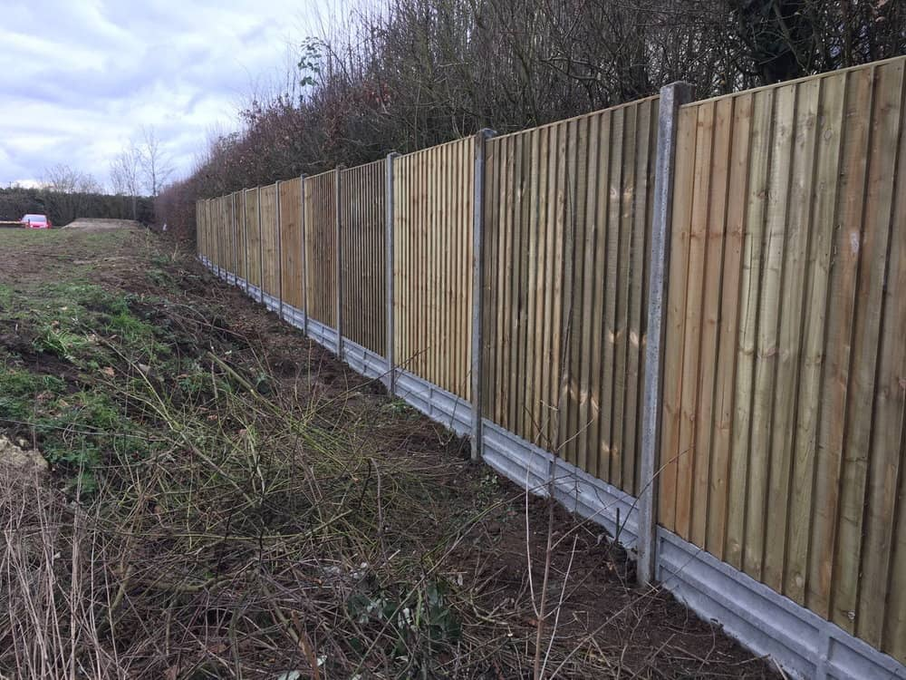 closeboard garden fencing kent
