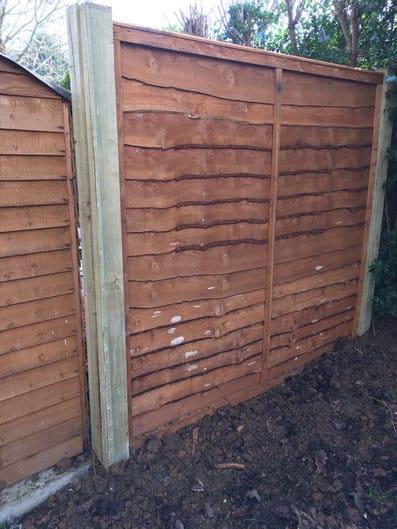 overlap garden fencing kent